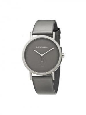 Часы DL9782NM Romanson. Цвет: серо-коричневый, серебристый