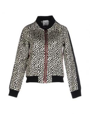 Куртка MARIUCCIA. Цвет: слоновая кость