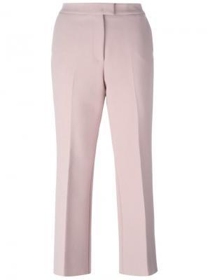 Укороченные брюки MSGM. Цвет: розовый и фиолетовый