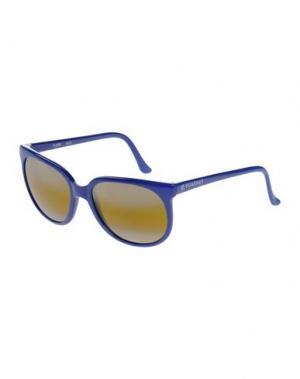 Солнечные очки VUARNET. Цвет: синий
