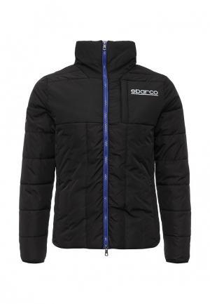 Куртка утепленная Sparco. Цвет: черный