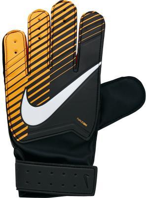 Вратарские перчатки NK GK JR MTCH Nike. Цвет: черный