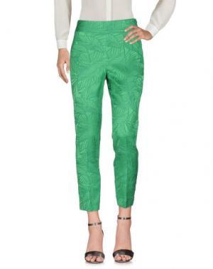 Повседневные брюки MARELLA. Цвет: зеленый