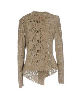 Куртка VINTAGE DE LUXE. Цвет: хаки