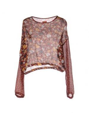 Блузка MACRÍ. Цвет: кирпично-красный