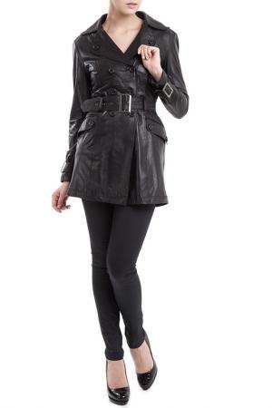 Пальто Cruse. Цвет: черный