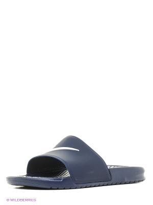 Шлепанцы BENASSI SHOWER SLIDE Nike. Цвет: синий