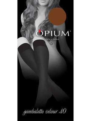 Гольфы OPIUM. Цвет: бронзовый