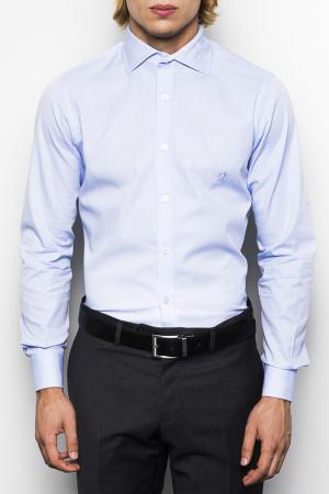 Рубашка UominItaliani. Цвет: синий