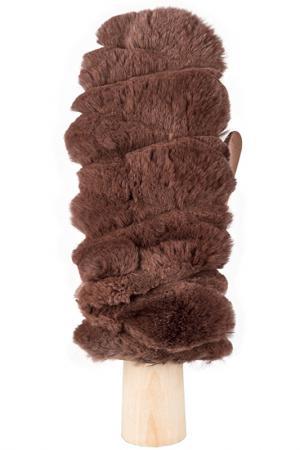 Варежки Eleganzza. Цвет: серо-коричневый