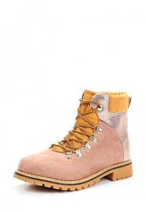 Ботинки Topway. Цвет: розовый