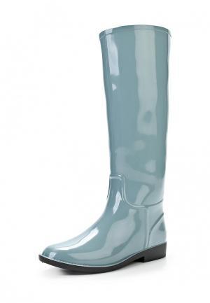 Резиновые сапоги Sandra. Цвет: серый