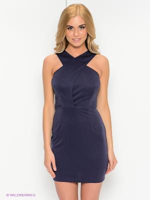 Платье Kira Plastinina. Цвет: темно-синий