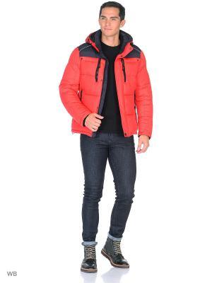 Куртка SNOWIMAGE. Цвет: красный