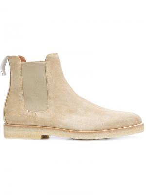 Ботинки Челси с узким голенищем Common Projects. Цвет: коричневый