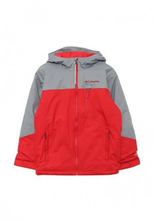 Куртка утепленная Columbia. Цвет: красный