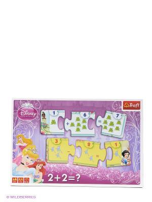 Игра Очаровательные принцессы Trefl. Цвет: сиреневый