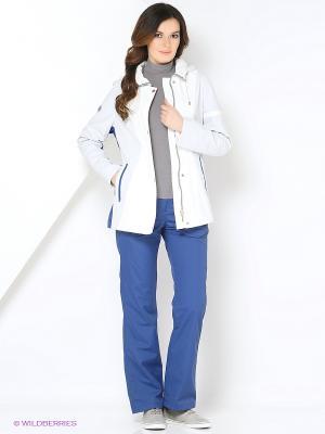 Спортивный костюм KARINA Maritta. Цвет: светло-голубой