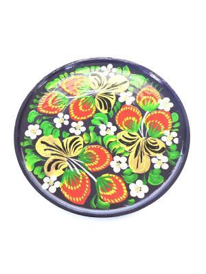 Тарелка - Ягоды на фиолетовом Taowa. Цвет: фиолетовый, красный