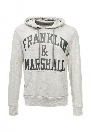 Худи Franklin & Marshall. Цвет: серый