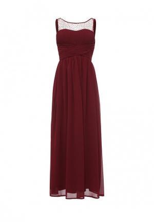 Платье Stella Morgan. Цвет: бордовый
