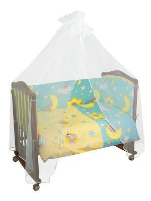 Комплект Сыроежкины сны Тайна снов. Цвет: голубой, бежевый, желтый, белый