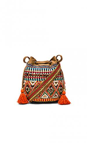 Сумка-мешок sitaara STELA 9. Цвет: коричневый