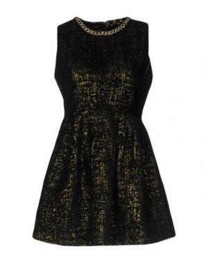 Короткое платье EYEDOLL. Цвет: черный