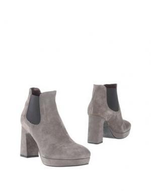 Полусапоги и высокие ботинки ALTO GRADIMENTO. Цвет: серый