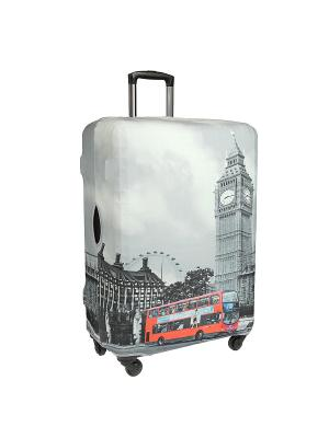 Чехол для чемодана Gianni Conti. Цвет: серый