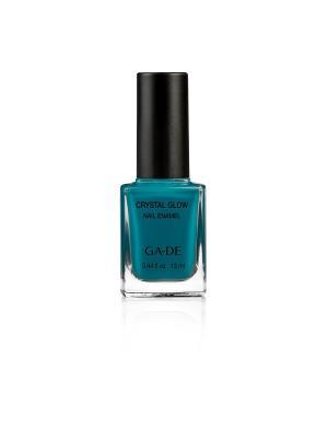 Лак для ногтей №.532 PEACOCK BLUE GA-DE. Цвет: бирюзовый