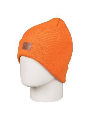 Шапка DC Shoes. Цвет: оранжевый