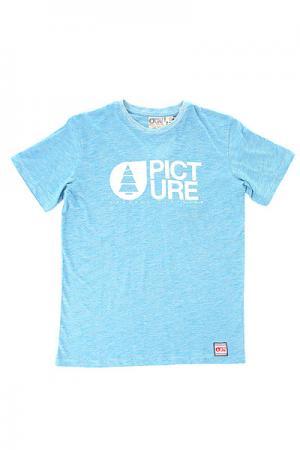 Футболка детская  Basement Start Blue Picture Organic. Цвет: голубой