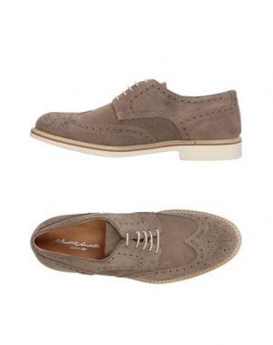 Обувь на шнурках ALBERTO MORETTI. Цвет: хаки
