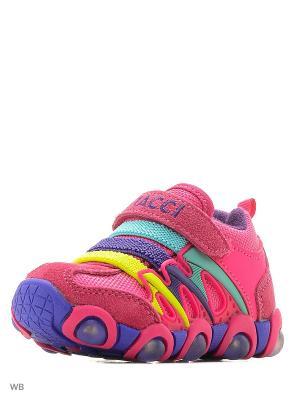 Ботинки Vitacci. Цвет: фуксия