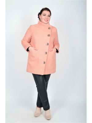 Пальто Весна Happiness. Цвет: розовый