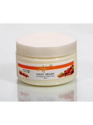 Holy Fruit Маска укрепляющая Облепиха (для сухих волос) Strengthening Hair Mask,. Цвет: желтый