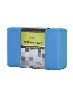 Блок для йоги IR97416 Start Up. Цвет: синий
