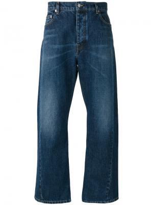 Широкие джинсы Kenzo. Цвет: синий