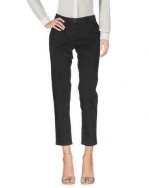 Повседневные брюки DEK'HER. Цвет: стальной серый