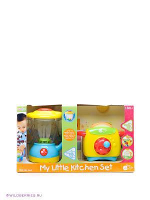 Игра Мой первый кухонный набор PlayGo. Цвет: желтый, голубой, зеленый
