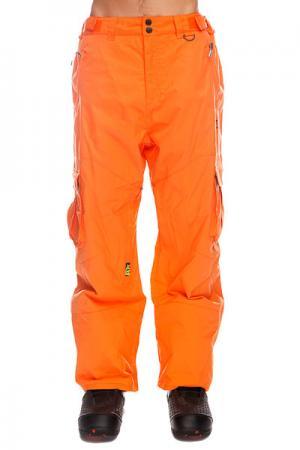 Штаны сноубордические  Master Loose Hot Corral Apo. Цвет: оранжевый