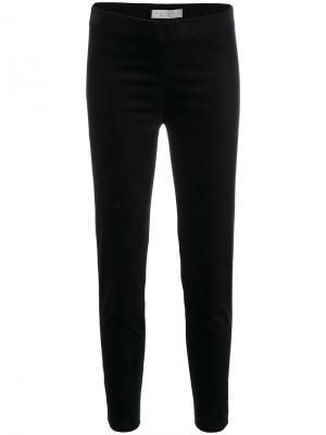 Укороченные брюки скинни D.Exterior. Цвет: синий