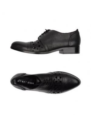 Обувь на шнурках STRATEGIA. Цвет: черный