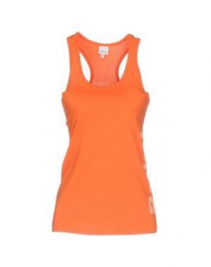 Футболка BENCH. Цвет: оранжевый