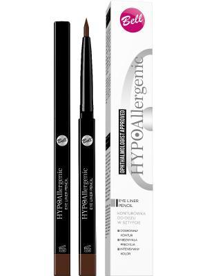 Bell Hypoallergenic Eye Liner Pencil Подводка Для Глаз Гипоаллергенная В Стике Тон 20. Цвет: коричневый