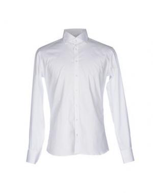 Pубашка EXIBIT. Цвет: белый