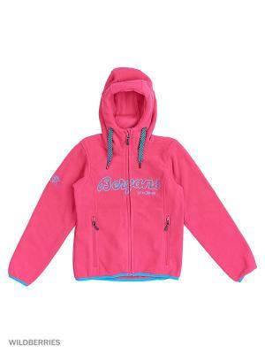 Куртка Bergans. Цвет: голубой, розовый