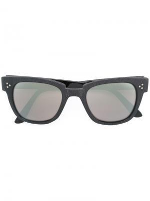Солнцезащитные очки Ricky Kyme. Цвет: чёрный