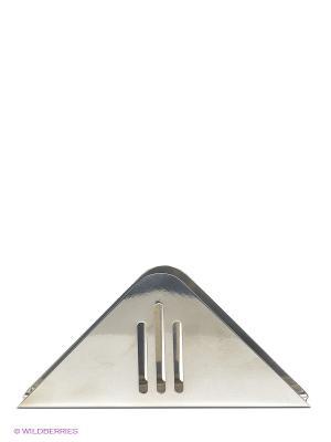 Подставка для салфеток Regent inox. Цвет: серебристый